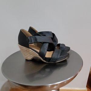 Nine west wedged  sandals